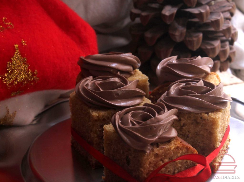 Oldfashioned Gingerbread Cake Recipe with Chocolate Frosting