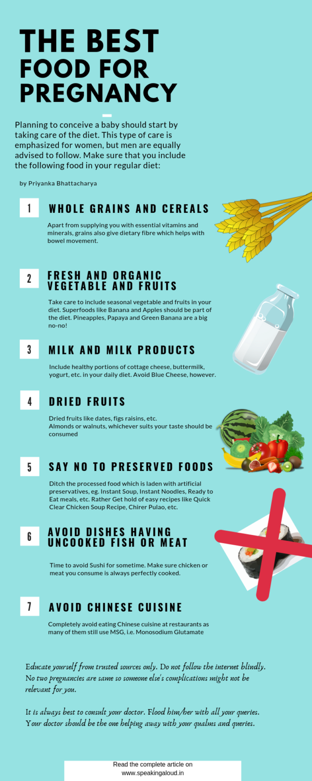 The Best Food for Pregnancy
