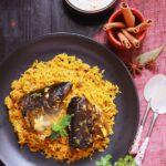 Macher Matha diye Pulao | Bengali Fish Head Pulao